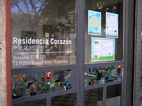 Forty-day position as writer-in-residence at Residencia Corazon in La Plata, Buenos Aires, Argentina.